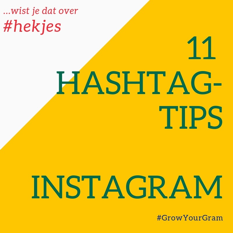 Wist je dat je bij hashtags tips altijd naar de datum moet kijken? de beste van de 11 tips is: hou rekening met meer veranderingen. Check voor het laatste nieuws de blogs en nieuwe media van jijLandt