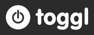 Toggl logo white