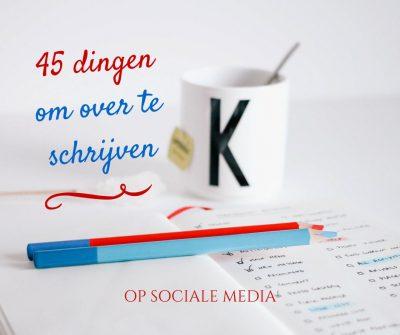 blog en post ideeën voor facebook, instagram, twitter van jijLandt.nu ~ projecten die staan op Terschelling