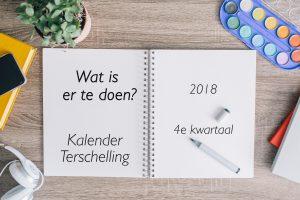 Wat is er te doen op Terschelling ? HaakAan kalender Content kalender ToDo op Terschelling