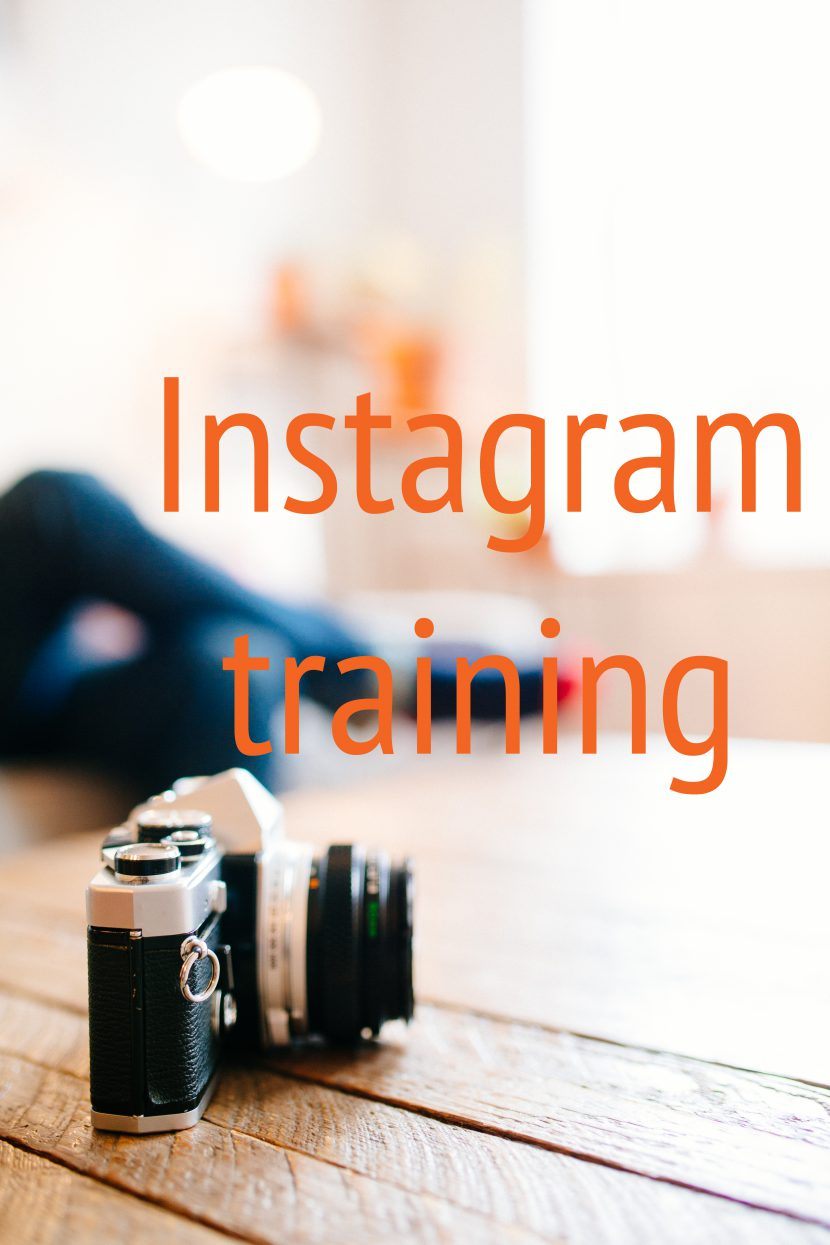 Instagram-training op Terschelling of online